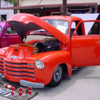 Dave's (Hot Rod) 50 Chevy PU